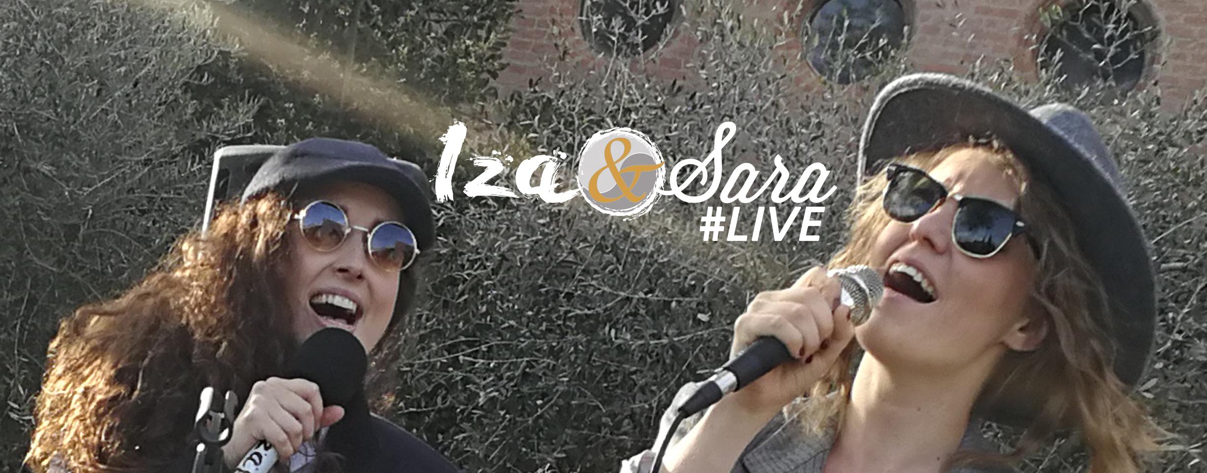 Iza&Sara #LIVE @Vivanderia note e aromi (Imola)